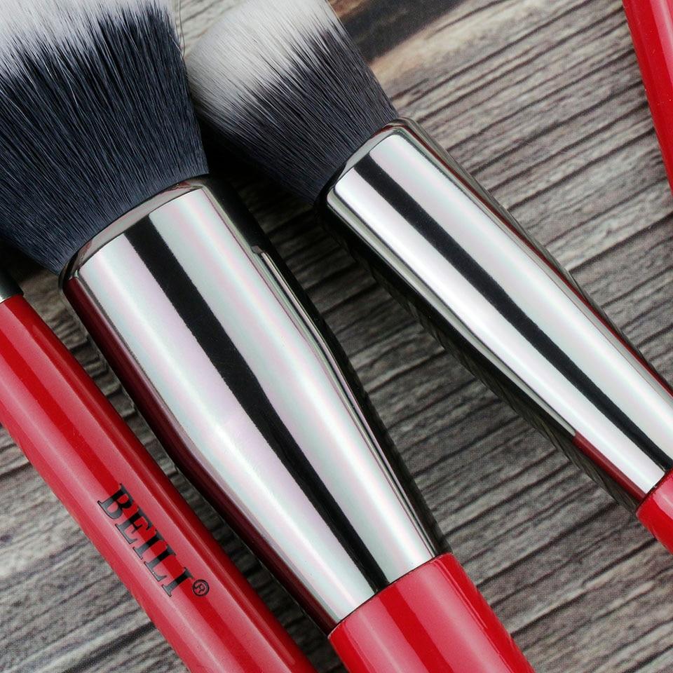 Beili 30 pçs pincéis de maquiagem profissional