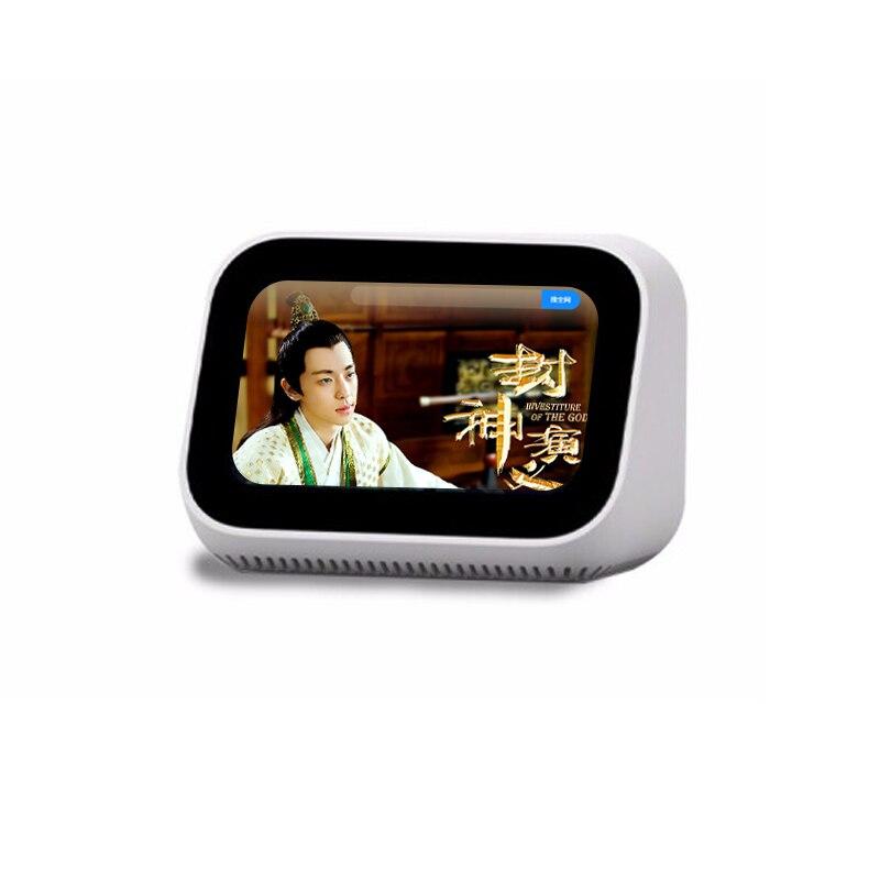 Original Xiaomi AI Face pantalla táctil Bluetooth 5,0 altavoz pantalla Digital despertador WiFi conexión inteligente con timbre vedio - 5