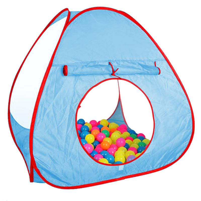 Pink Blue Foldable Children Kids Play Tents Outdoor Baby Toy Tent Girl Outdoor House Kids Tent Baby Christmas Gift
