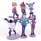 Junior Vampirina The Vamp Bat Woman Girl PVC Figures Playset Toys Gift for Children Girls 6pcs/set