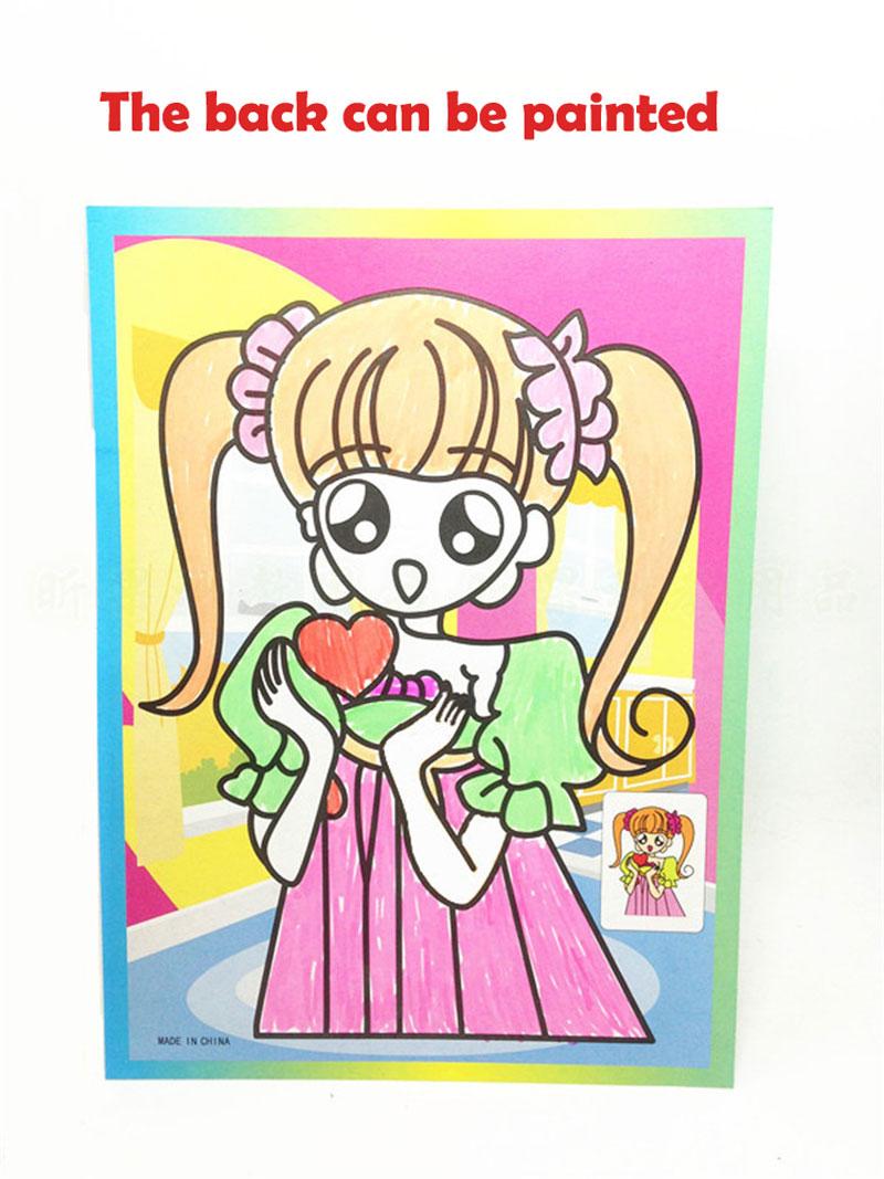 Young Sailor Moon Magic Painting Paper