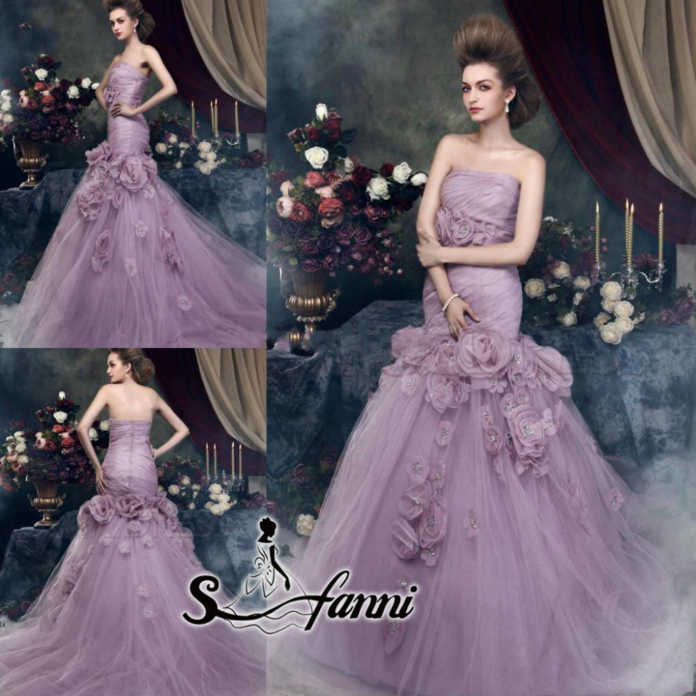 coloured wedding dresses from our favourite bridal designers lilac wedding dress Design by a href http www ianstuart bride