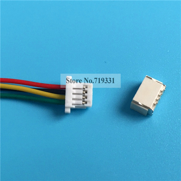 10sets Mini Micro JST 1.0mm SH 4-Pin Connector Plug With Wires Cables