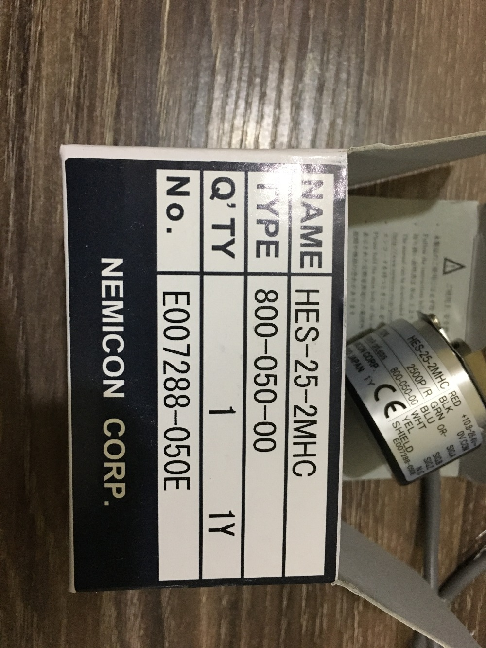 Within  control of NE MI CON * Cheap * HES-25-2MHC 2500 encoder pulse performance and stabilityWithin  control of NE MI CON * Cheap * HES-25-2MHC 2500 encoder pulse performance and stability