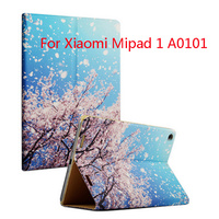New Colored Drawing Leather Case Cover For Xiaomi 7.9