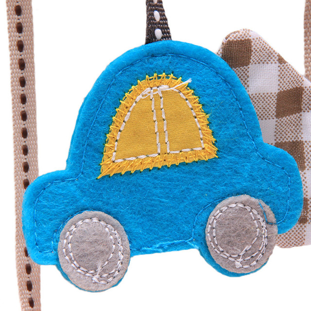 Musical Hanging Mobile with Fabric Toys