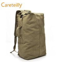 Vintage Canvas Backpack Hiking Daypacks Computers Laptop Backpacks Unisex Casual Rucksack Satchel Bookbag Mountaineering Bag
