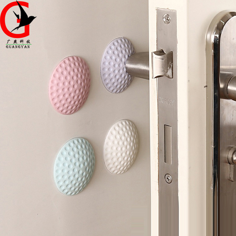 Furniture door posture wall buffer cabinet door anti collision pad children room kids door anti collision