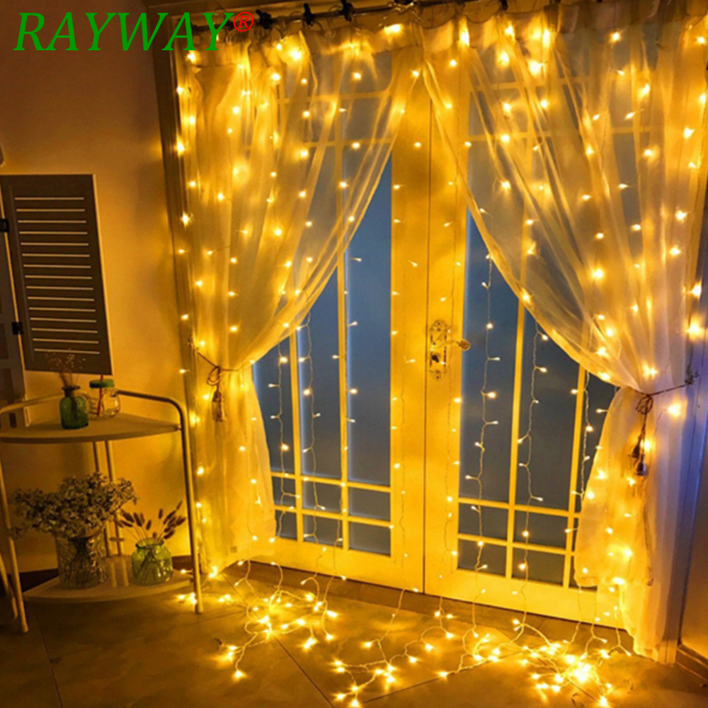 4.5Mx3M 300Led Light Christmas Decorations Leds Icicle Led