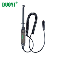 DUOYI DY12 6V 12V 24V Car Battery Measure Hook Test Pencil Automotive Batteries Testing Tool Low Voltage Circuit Detection