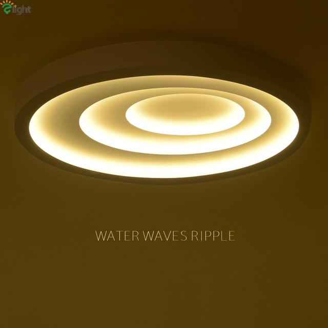 Moderne Wasser Wellen Led Deckenleuchten Kreative Metall ...
