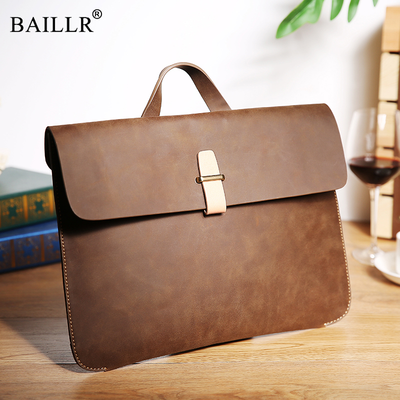 2018 New Fashion Vintage Crazy Horse PU Leather Men Bag Men's Men Messenger Bags Shoulder Crossbody Bags Man Handbags Briefcase ms crazy horse genuine leather men bag men s leather bag men messenger bags shoulder crossbody bags man handbag briefcase tw2011