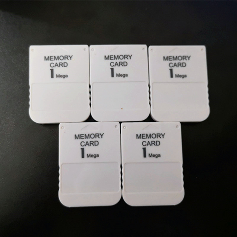 5pcs lot White 1MB 1M Memory Save Saver Card For Sony Performance for Sony Playstation PS1