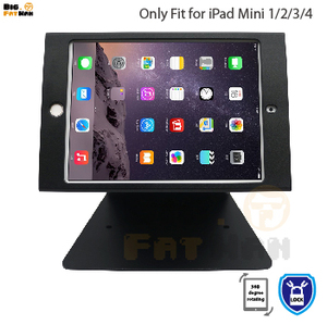 Tablet pc stand for iPad mini 1 2 3 4 holder desktop security holder stand for kiosk POS secure with lock shop support display(China)