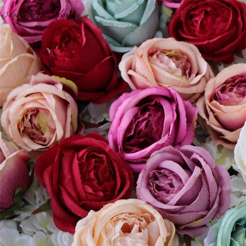 Diskret Simulation Big Rose Blume Köpfe Künstliche Rose Silk Blume Diy Hochzeit Shop Fenster Display Hotel Wand Diy Dekoration Für Home Weich Und Leicht Künstliche Dekorationen
