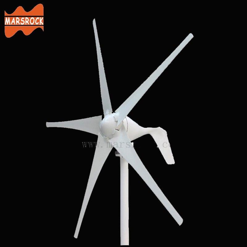Livraison gratuite AC12V/24 V 400 W éolienne avec contrôleur, petit moulin à vent pour un usage domestique, approbation CE RoHS
