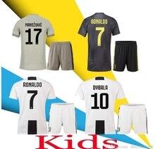 e600eb490 Nuevo 2019 RONALDO JUVENTUS chico kits de fútbol Jersey niño 18 19 JUVE  2018 DYBALA Higuaín