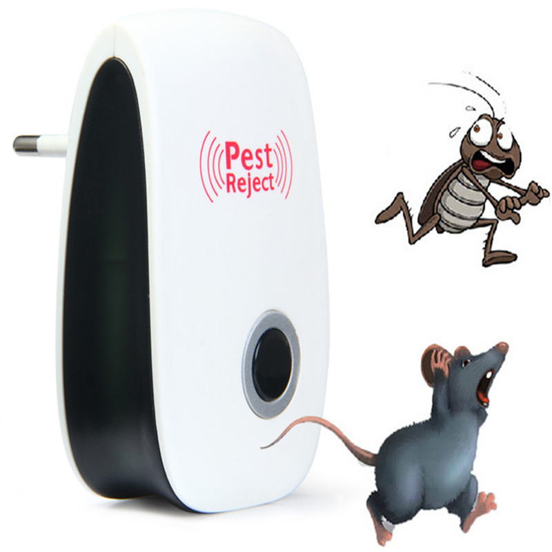 Dependable Electronic Ultrasonic Pest Mouse Repellent Anti Mosquito Repeller Killer Machine Pest Reject Insect Rodent Control Eu/us/au Plug Home & Garden Cat Toys