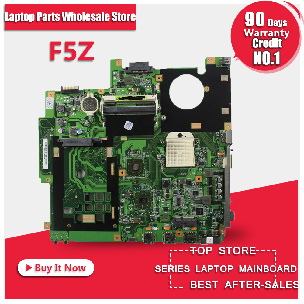 hot selling Origina laptop board For Asus F5Z motherboard X50Z system motherboard fully tested good hot selling for asus k56cb motherboard k56cm rev 2 0 intel 2117 cpu 2gb pm gt740m fully tested main board