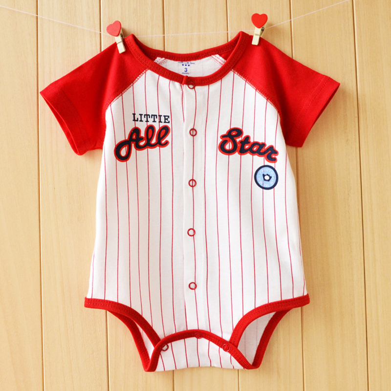 Baby Rompers Summer Baby Girl Clothes Cartoon Baby Boy Clothing Short Sleeve Newborn Baby Clothes Roupas Bebes Infant Jumpsuits 2017 spring summer newborn cartoon rompers baby clothes girls cotton long sleeve clothing bebes boy jumpsuits infant costume