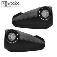 BJMOTO LED Handguards Hand Guard with light For Honda Kawasaki Yamaha KTM ATV Motocross Pit Dirt Bike Off road Enduro Racing