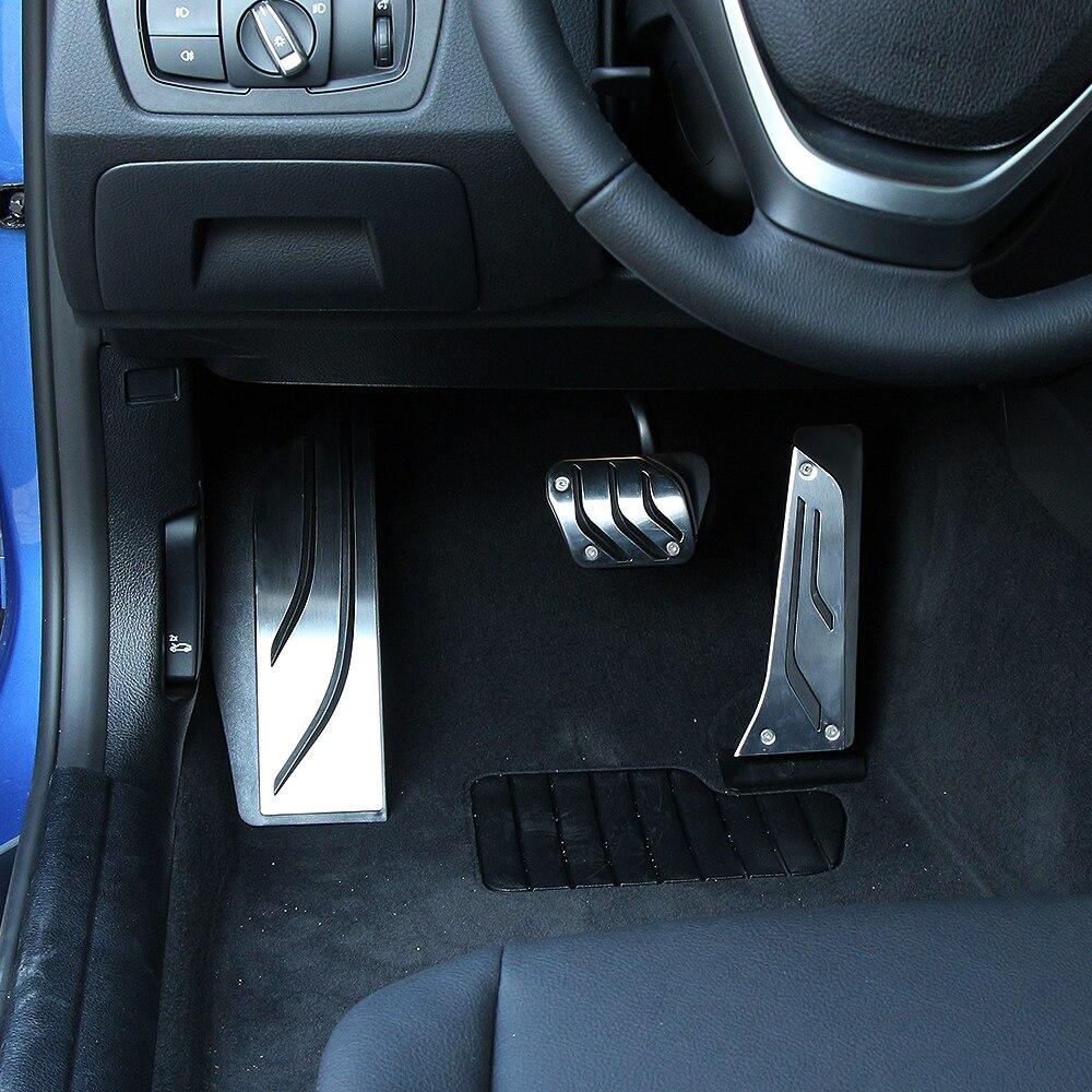 Тормозная педаль акселератора без сверления, колодка для BMW, Новинка 1, 2, 3, 4, 5, 6, 7 серии GT, X3, X4, X5, X6, Z4, F10, F15, F30, F31, F34, LHD AT