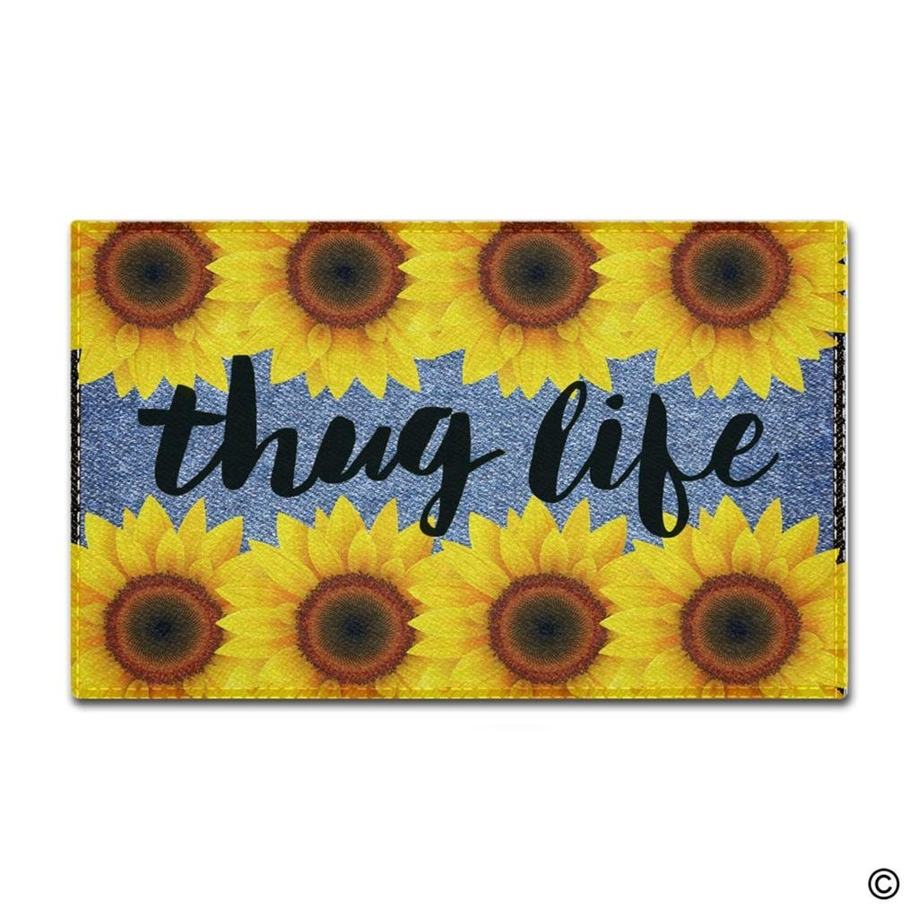 Buy sunflower doormat and get free shipping on AliExpress.com