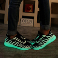 2017 New Emitting Luminous Shoes Couple Men Valentine Colorful Fluorescent Shoes Glowing  Casual Shoes size 36-44