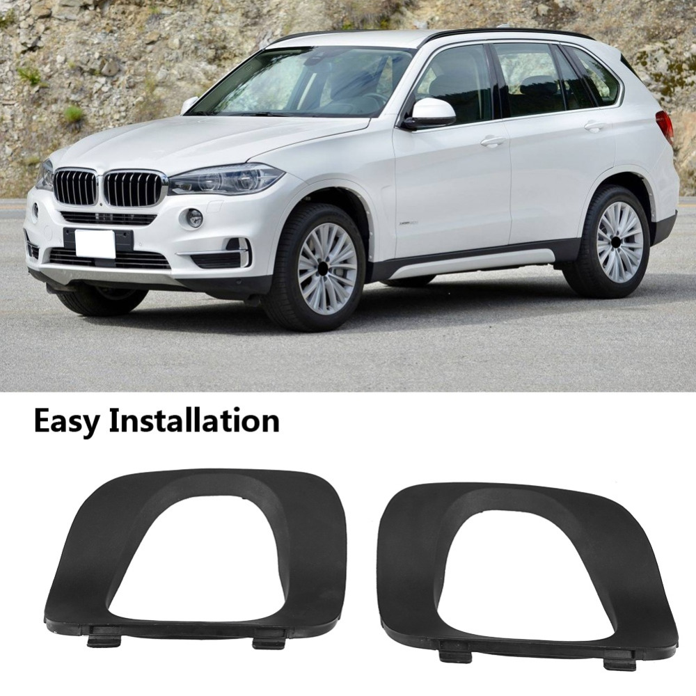 Car Rear Left Covering Bumper Cover Tail Pipe Replacement For BMW X5 E53 3.0i