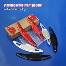 2pcs Aluminum Steering Wheel Shift Paddle Shifter Extension For Honda Civic 10th 17-18 Fit 17-18 VEZEL 15-18 2pcs steering wheel aluminum shift paddle shifter extension for honda fit 2009 2013