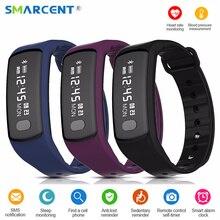 Smarcent HB07 SmartBand артериального давления шагомер браслет Фитнес трекер монитор cardiaco смарт-браслет для iOS и Android