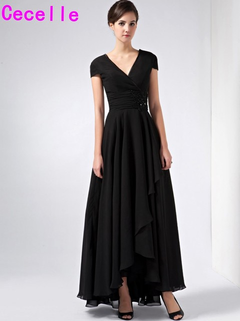 Simple Mother of Bride Dress
