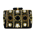 Retro Style evening clutch bag for women lady handbag crystal casual clutch (C022)
