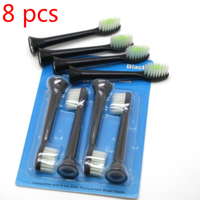 8 pcs P-HX-3024 HX3024 Sonic Toothbrush Replacement Heads Oral Heygiene For Philips toothbrush head image