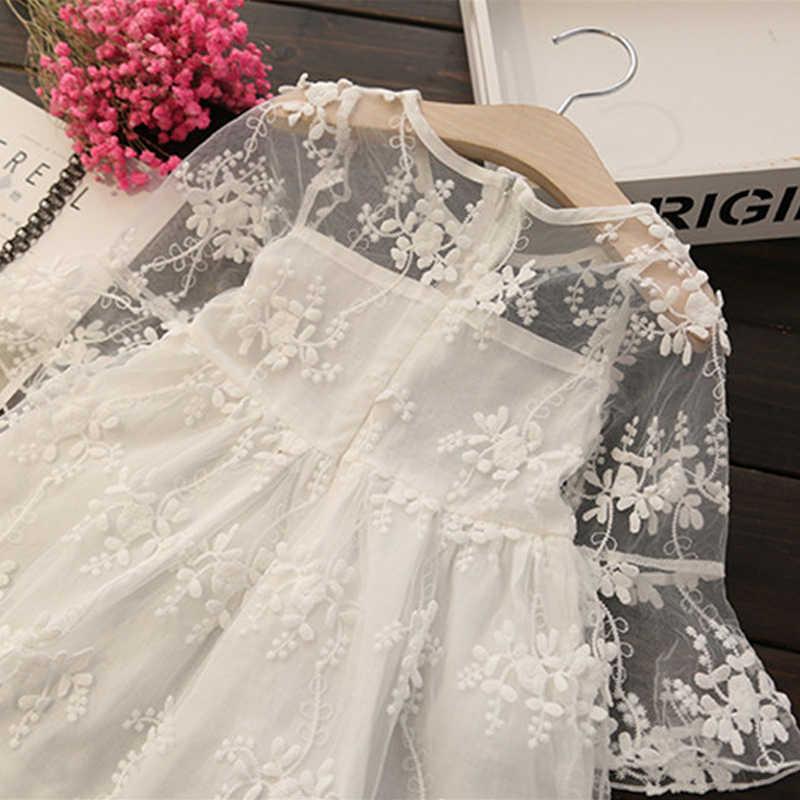2019 ฤดูร้อนชุดเจ้าหญิง 3 5 8 ปีเด็กหญิงกลีบ Ball Gown ชุดเดรสสำหรับสาวเด็ก party เสื้อผ้า