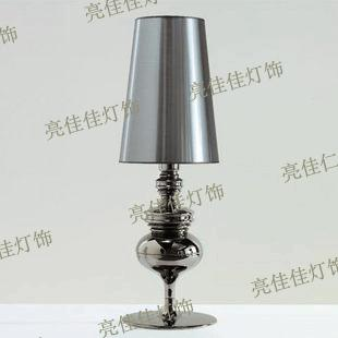 The new Spanish defense Jindeng bedroom lamp table lamp table light LED hotel project FG657 the bantam new college spanish