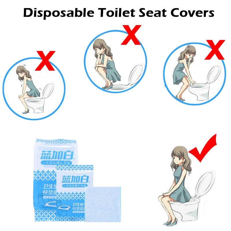 Outdoor Seat Covers Waterproof Disposable Toilet Pad Toilet Mat For Travel Pregnant Women Antibacterial Kids Toilet Pad Bathroom
