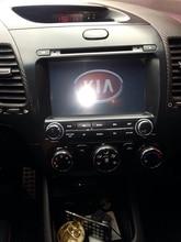 "Kia Cerato Forte 2 din reproductor de DVD GPS para Kia K3 8 ""Kia Cerato Forte 2013 K3 2014"