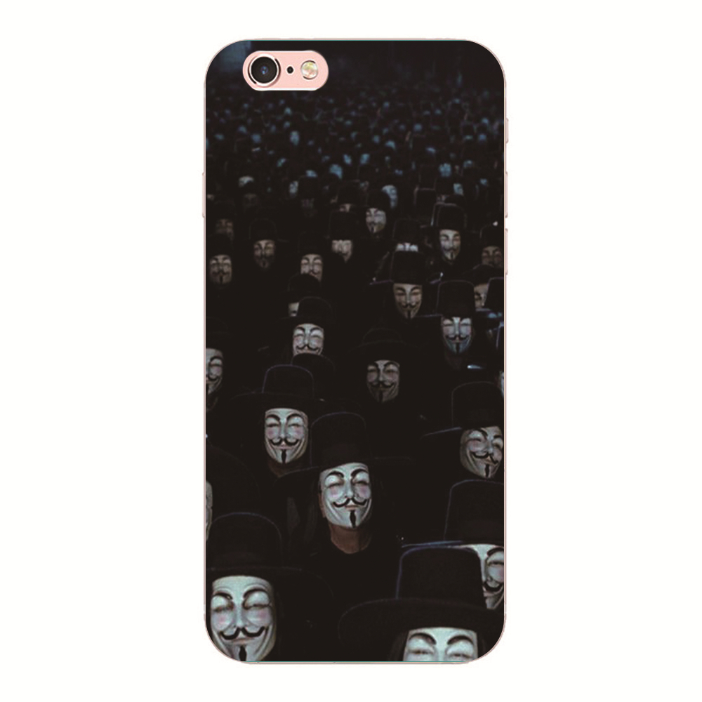 <font><b>V</b></font> for Vendetta <font><b>Phone</b></font> case For iphone 6s 6 5s 5 For Samsung S4 S5 S6 Hard cover For Huawei P10 P9 P8 Lite MEIZU M5S M5 <font><b>M3</b></font> Note