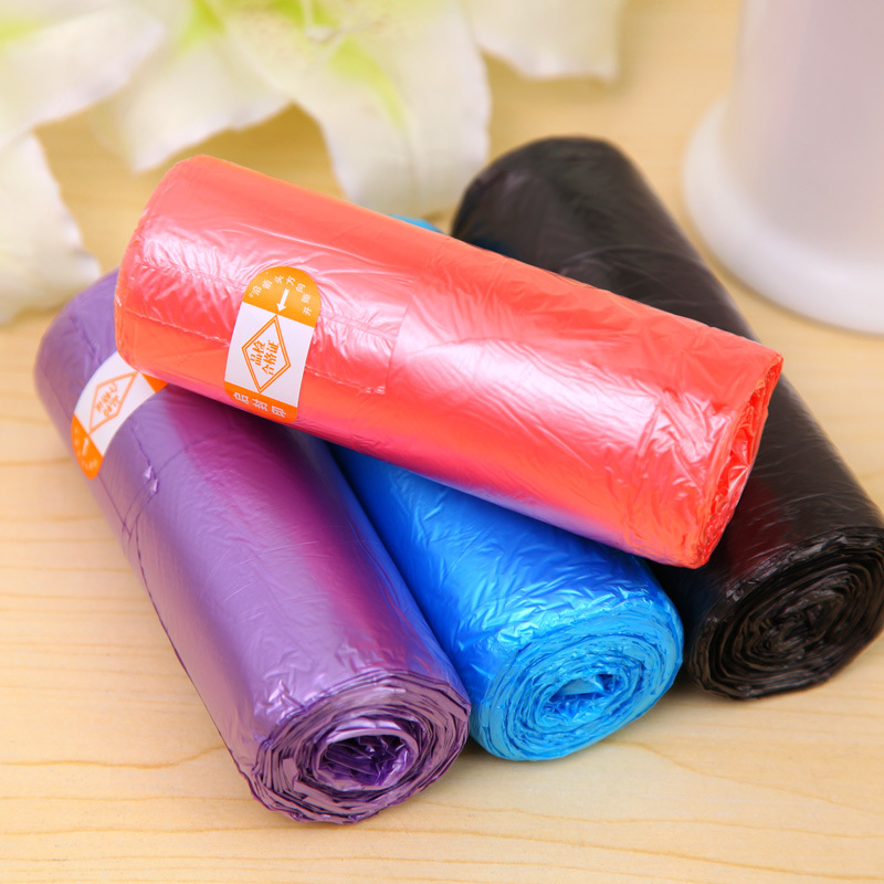 30pcs/set Rolling Garbage Bags Eco-friendly Household Handy Kitchen Bucket Bag Cleaning Bag 3798