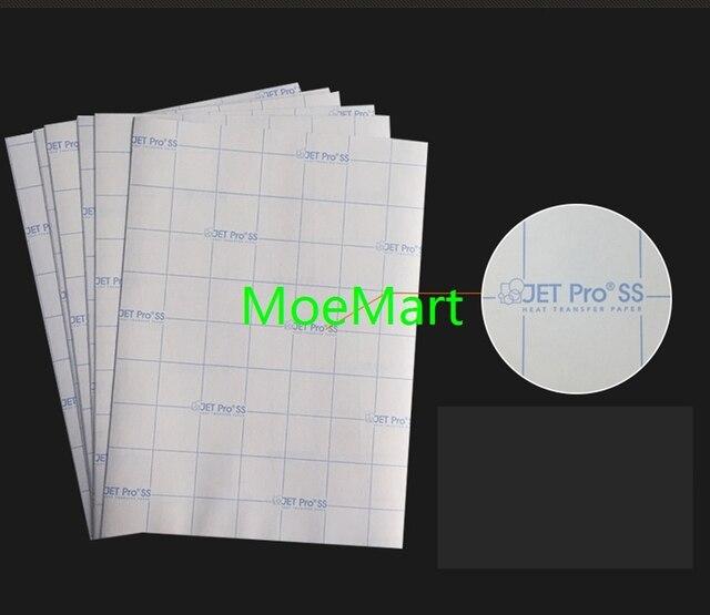 US $18 5 |20pcs A4 Size Epson Printer Inkjet Printing Transfer Paper DIY  Water Slide Decal Paper Heat Transfer Paper Laser Printing on  Aliexpress com