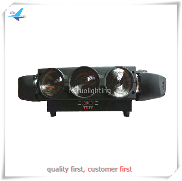 free shipping 9X12W Led Spider Beam Mini Moving Head Light 3 Heads RGBW 4IN1 Clay Paky Effect Bright Disco Stage Wash Lighting 10w rgbw mini led beam moving head light disco dj stage lighting dmx512 mini 10w led linear beam chandelier 10w wash beam lamps