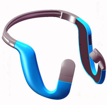 Фотография comfortable stereo bone-conduction bluetooth earphones and headphones wireless earpiece waterproof
