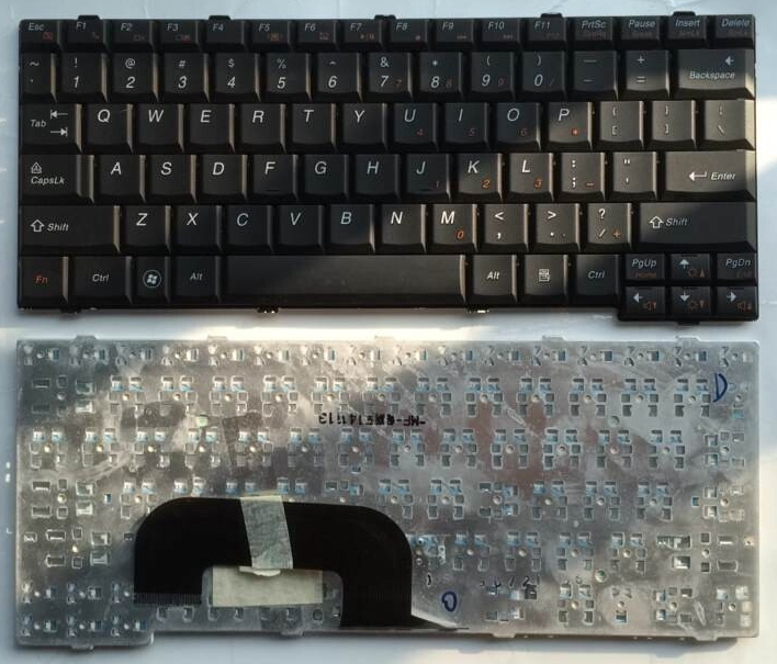 US Black New English Replace laptop keyboard For Lenovo K26 K23 N7S N7W S12