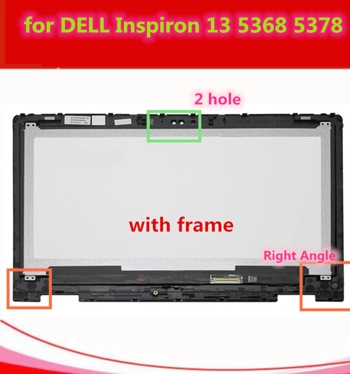 For Dell Inspiron 13 7000 series 7347 7348 7359 P57G 11118178082 LCD