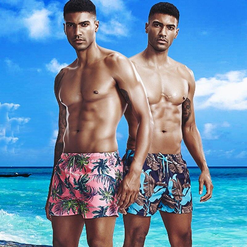 Seobean Brand Mens Board Shorts Quick Dry Men Boardshorts Summer Bermuda Surfing Short Male Sea Beach Swimwear Swimming Suit