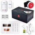 KERUI Home alarm systems PSTN Keypads Burglar Alarm System LCD Auto Dialer 120 Zones Landline Wireless System