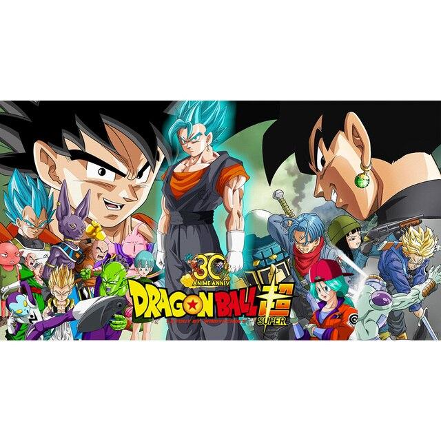 Mal Goku Dragon Ball Super Tapis De Jeu Edition Limitee 35x60 Cm