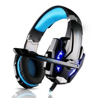 KOTION EACH G9000 3 5mm Game Gaming Headphone Headset With Mic LED Light For PS4 Computer