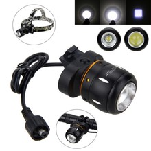 5000 Lm XM-L T6 LED Bike Lamp Zoomable Headlamp Adjustable Focus Front Bike Headlight with Battery Set and Rear Light цена